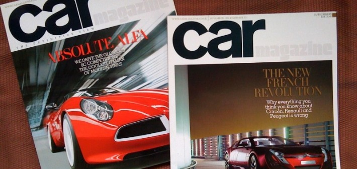 Things get ugly at Car magazine