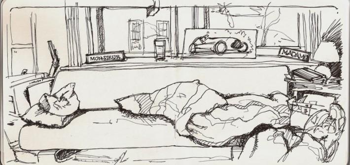 More sketching…