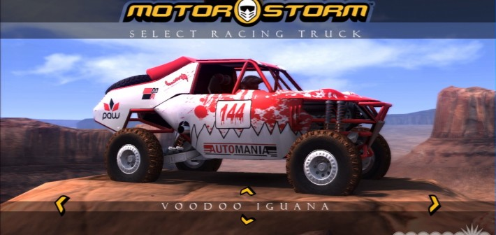 MotorStorm Vehicle Design