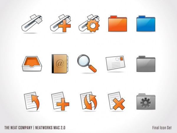 NeatWorks for Mac Iconography