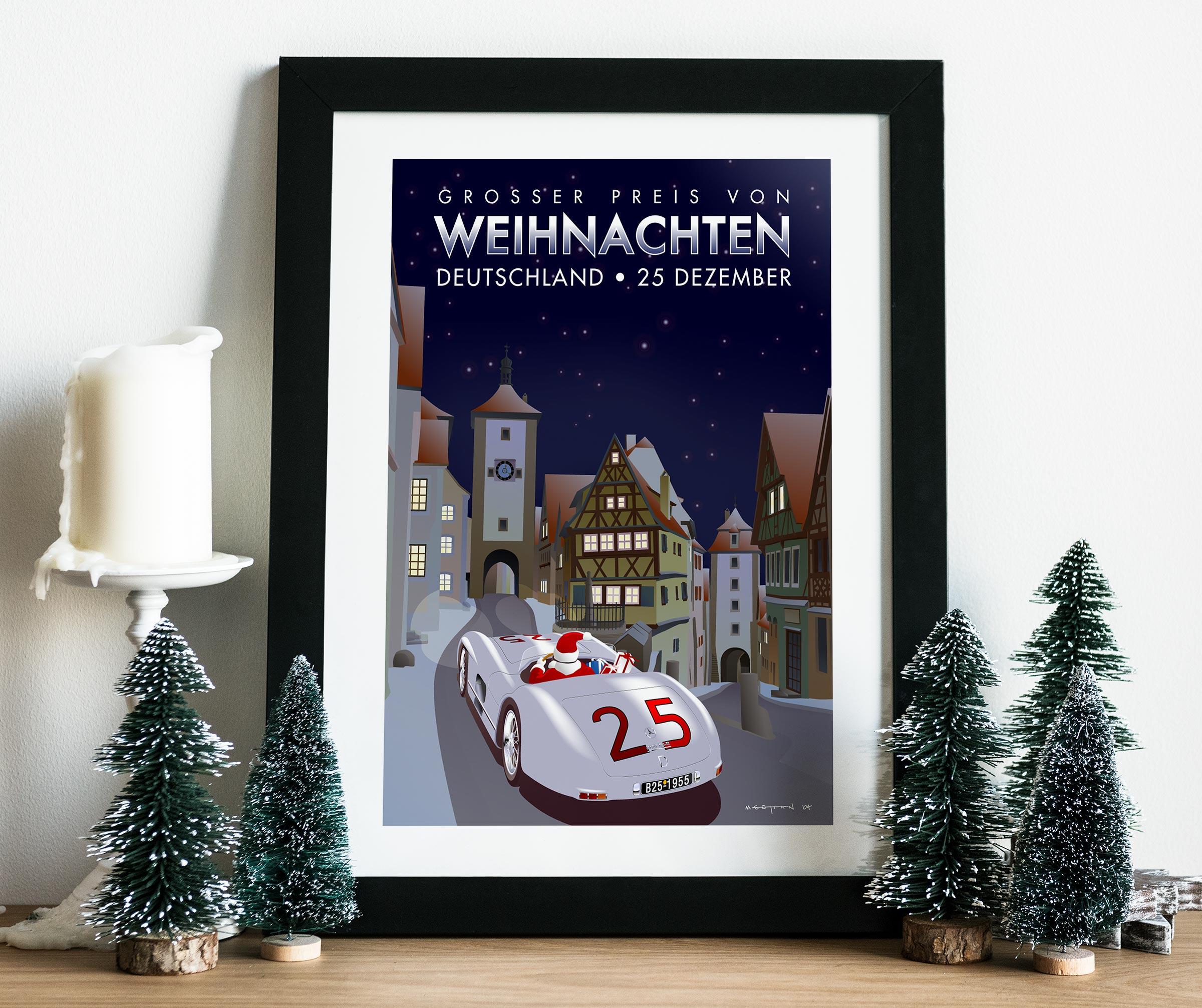 2004 Christmas Poster mockup