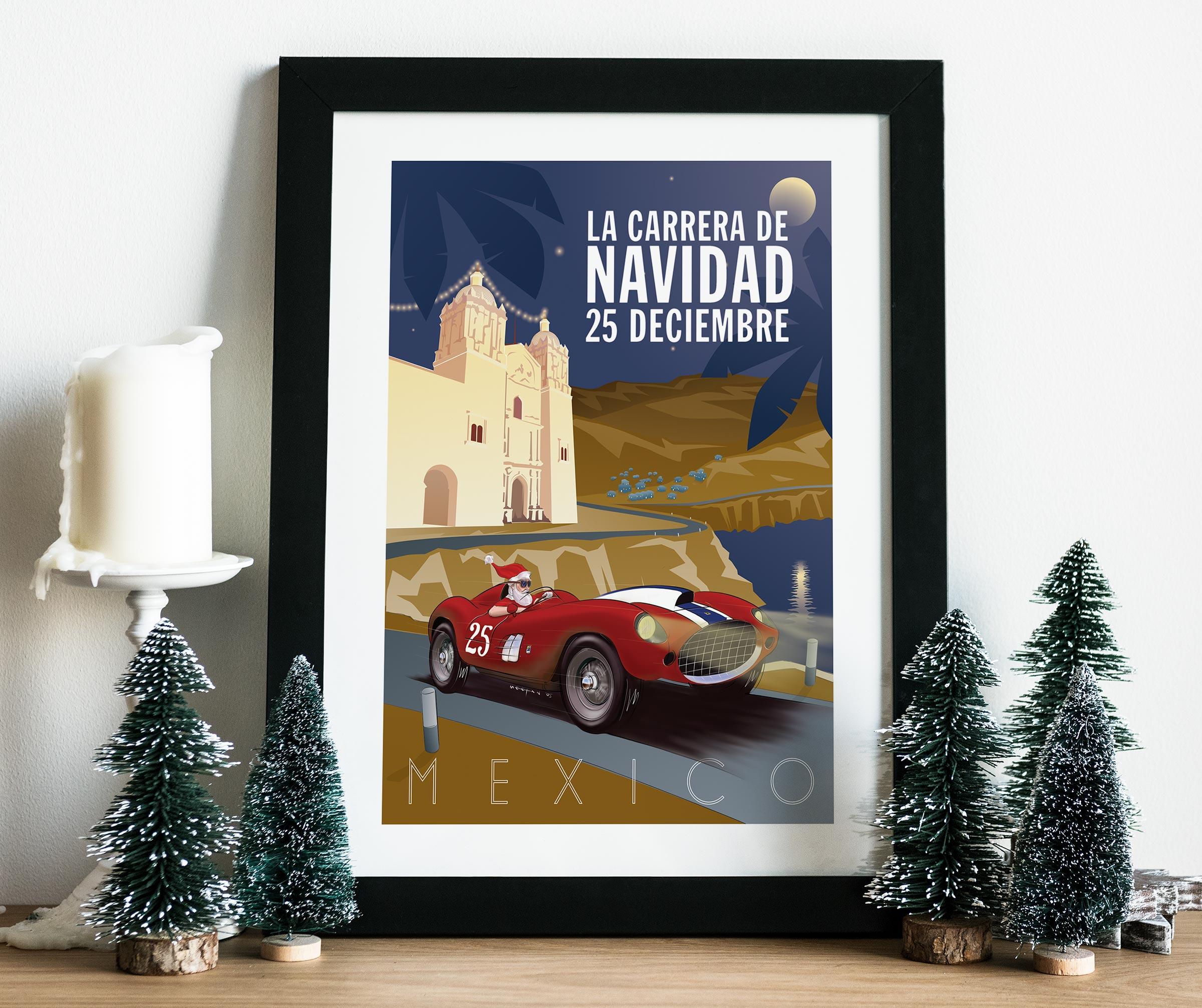 2005 Christmas Poster mockup