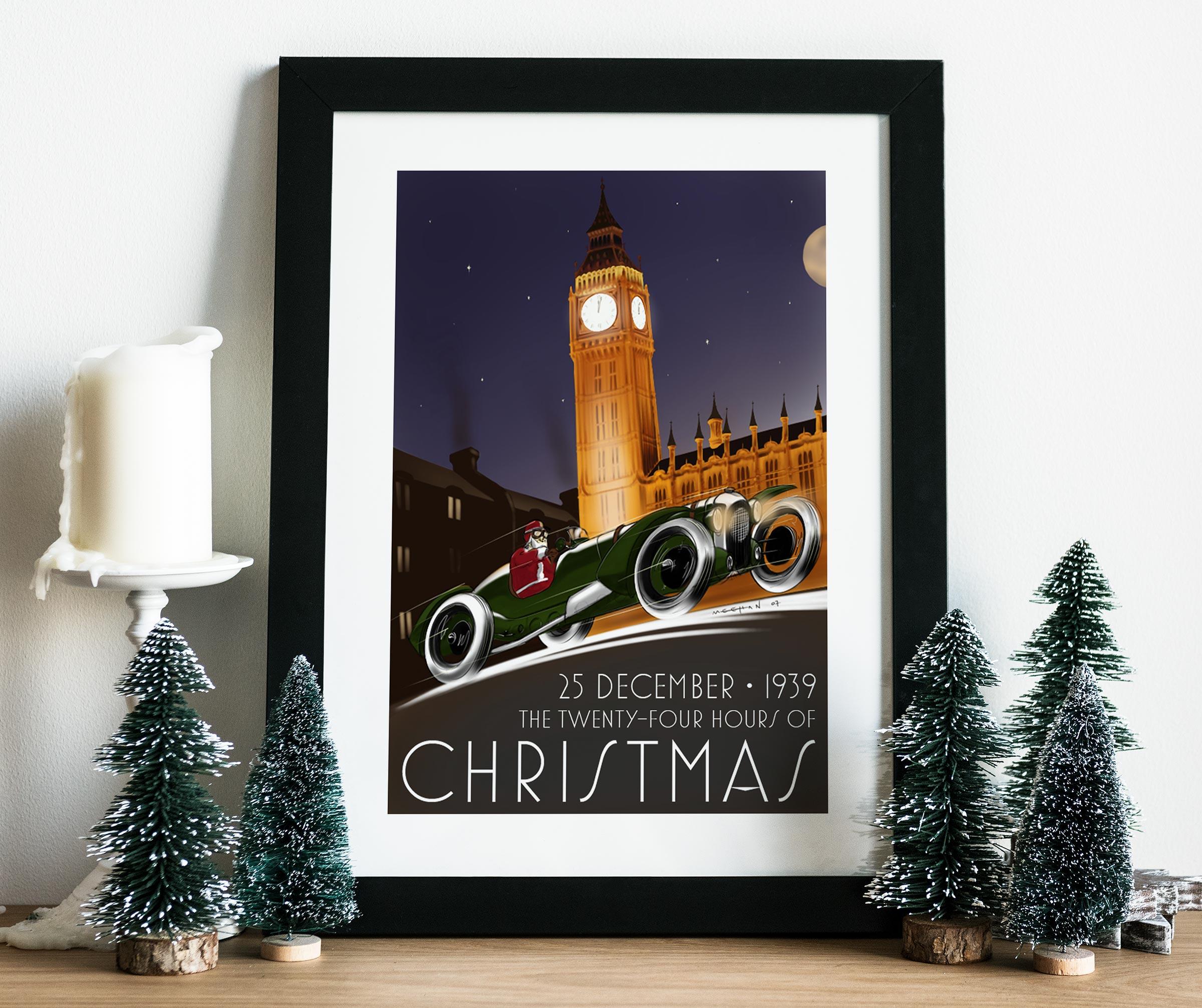 2007 Christmas Poster mockup