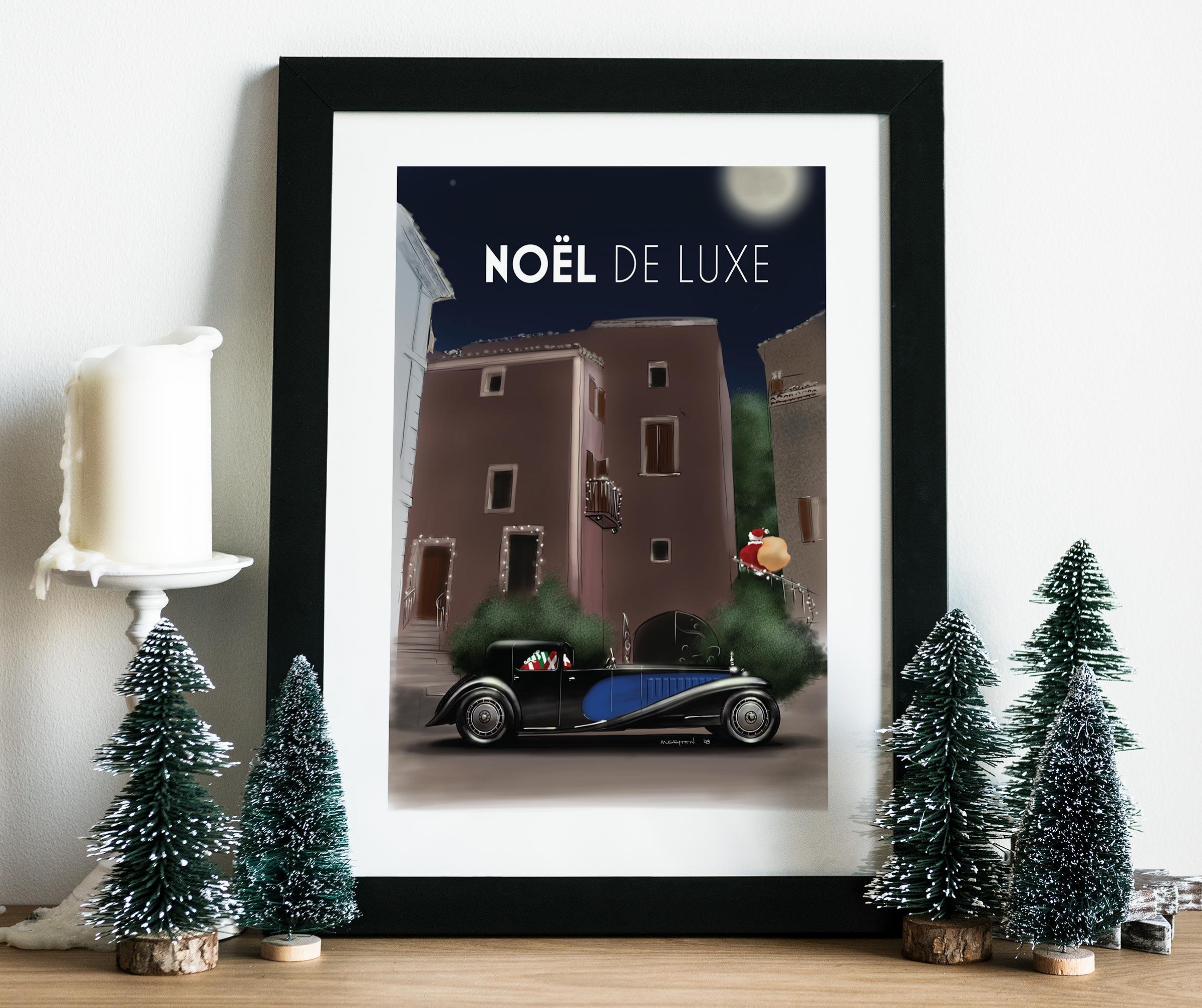 2008 Christmas Poster mockup