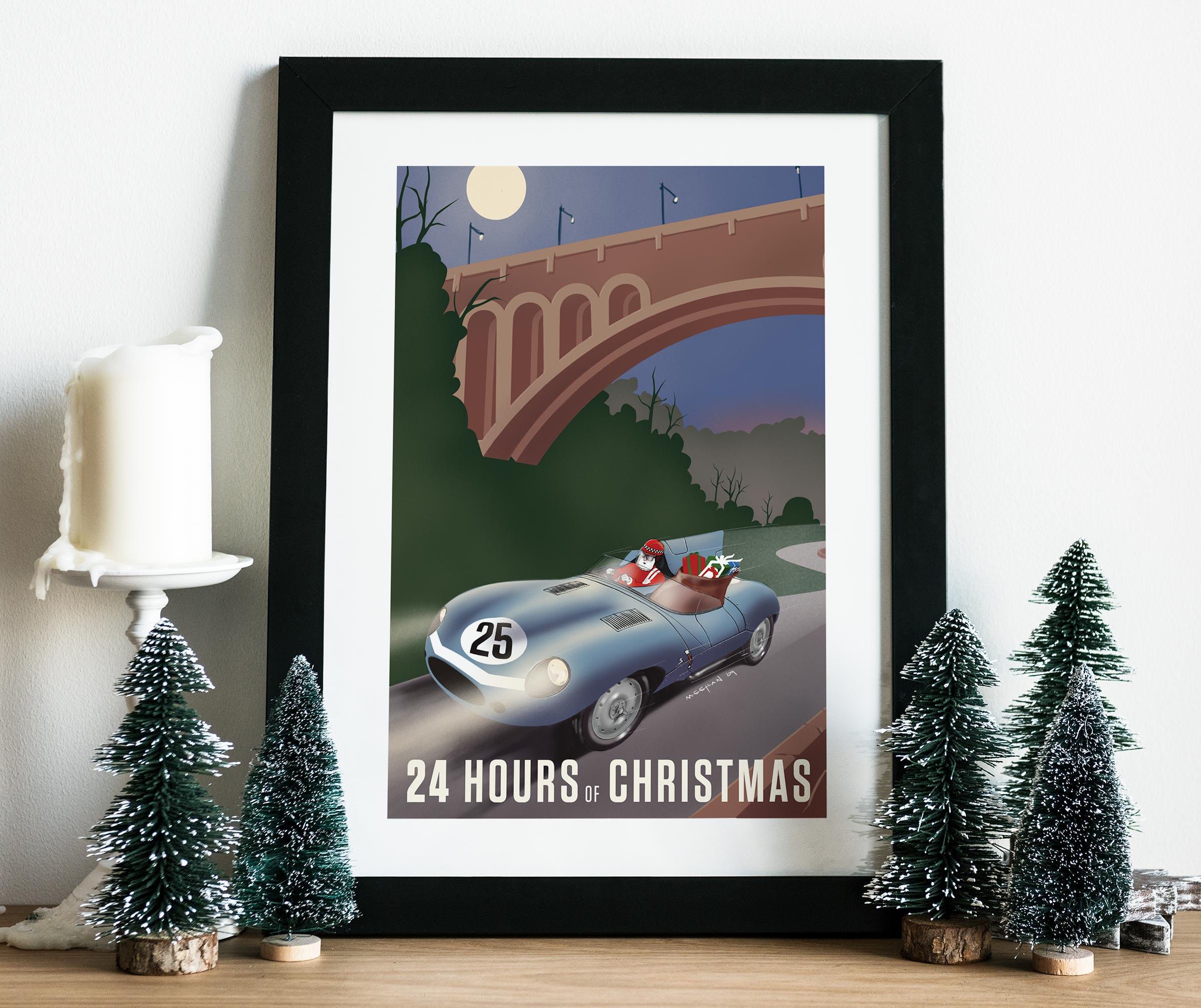2009 Christmas Poster mockup