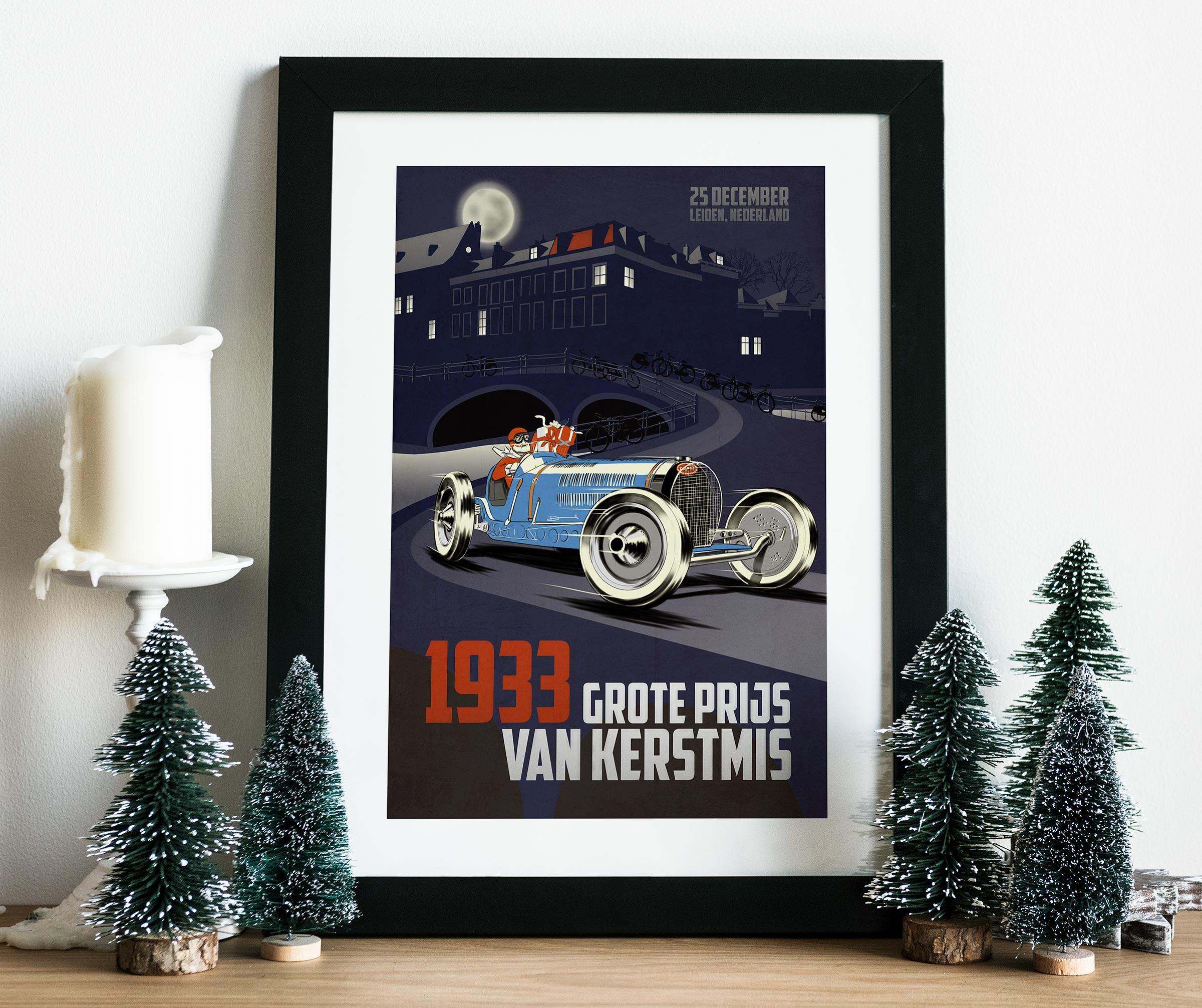 2011 Christmas Poster mockup