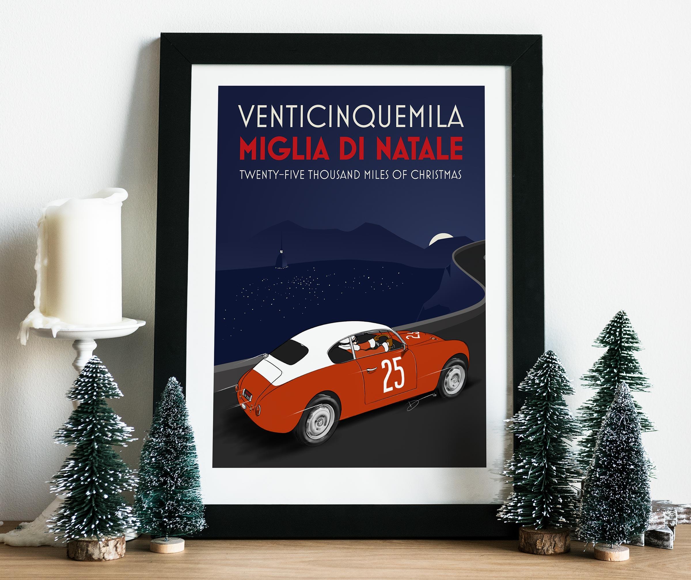 2016 Christmas Poster mockup