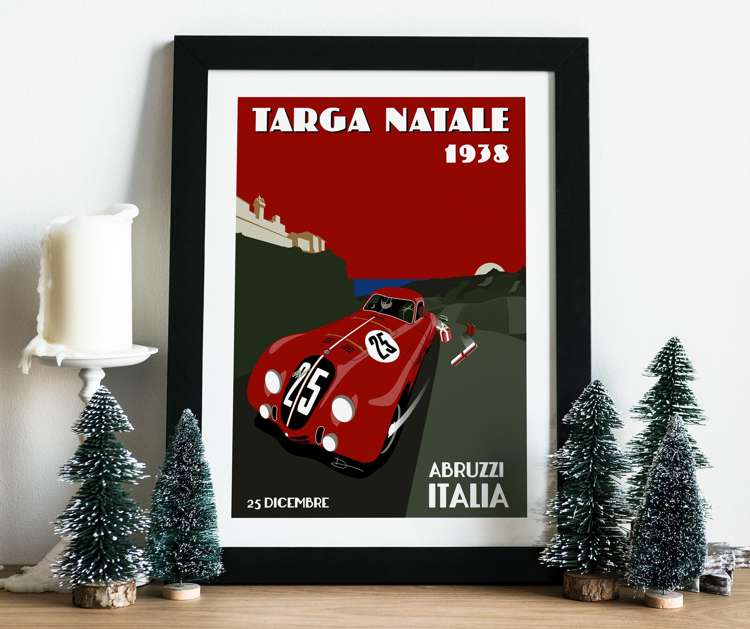 2013 Christmas Poster mockup